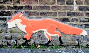 Joy Ellis fox mural