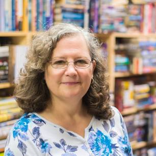 Deb headshot bookstore