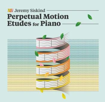 Jeremy Siskind UPDATE Etudes CD cover